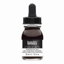 LIQUITEX 30ml INK TRANSPARENT BURNT UMBER