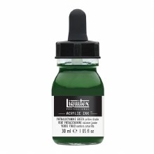 LIQUITEX 30ml INK PHTHALO GREEN YELLOW SHADE
