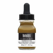 LIQUITEX 30ml INK TRANSPARENT RAW SIENNA