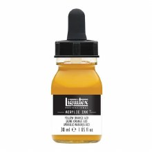 LIQUITEX 30ml INK YELLOW ORANGE AZO