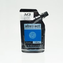 Abstract 120ml Cerulean Blue Hue