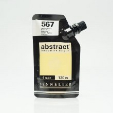 Abstract 120ml Naples Yellow