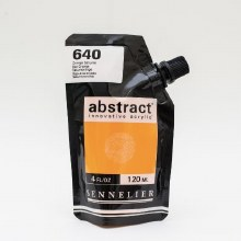 Abstract 120ml Red Orange