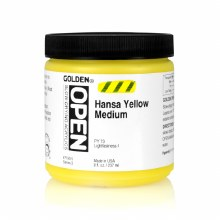 OPEN 237ml Hansa Yellow Med