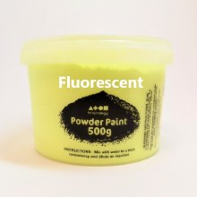 BC Powder Paint Fluo Yellow
