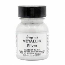 Angelus Leather Paint 29.5ml - Metallic Silver