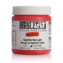 Golden SoFlat 118ml Naphthol Red Light