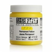 Golden SoFlat 118ml Permanent Yellow