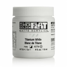Golden SoFlat 118ml Titanium White