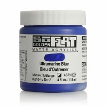 Golden SoFlat 118ml Ultramarine Blue