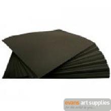 Sugar Paper A2 Pk Black 250's