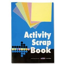 A4 32 SHEET ACTIVITY SCRAPBOOK