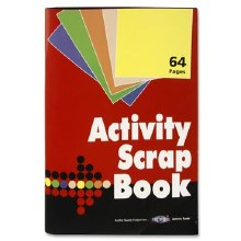 A4 64 SHEET ACTIVITY SCRAPBOOK