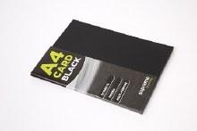 A4 Black Card 180gsm 50s