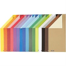 A4 Colour Bar Double Sided Paper 16 assorted sheets