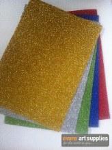 A4 Glitter Foam Sheets 5s