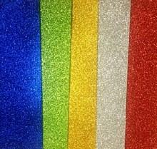 A4 Glitter Self Adhesive Paper