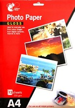 A4 Gloss Photo Paper 8s