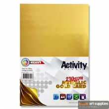 A4 Gold Card 210gsm 25s