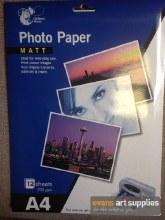 A4 Matt Photo Paper 8s