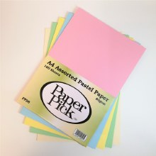 A4 Paperpick Ass Pastel Paper