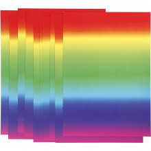 A4 Rainbow Card 10 sheets