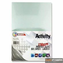 A4 Silver Card 210gsm 25s