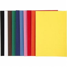 A4 Velour Paper 10 assorted Colours