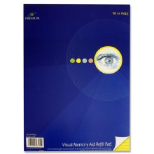 A4 Visual Refill Pad Yellow
