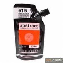Abstract 120ml Cadmium Red Orange Hue
