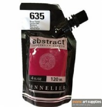 Abstract 120ml Carmine Red