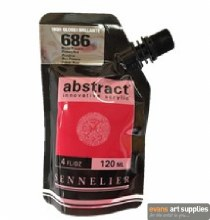 Abstract 120ml High Gloss Primary Red