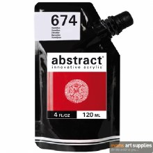 Abstract 120ml Vermilion