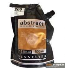 Abstract 500ml Raw Sienna