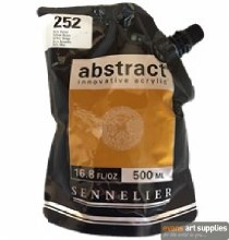 Abstract 500ml Yellow Ochre