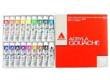 Holbein Acryla Gouache 18 Colour Set