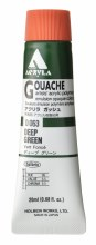 Holbein Acryla Gouache 20ml Deep Green