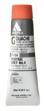 Holbein Acryla Gouache 20ml Neutral Grey 4