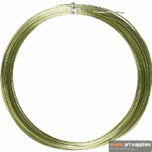 Aluminium Wire Green 16m