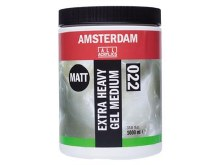 Amsterdam Extra Heavy Gel Medium 1000ml - MATT
