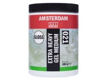 Amsterdam Extra Heavy Gel Medium 1000ml - GLOSS