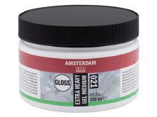 Amsterdam Extra Heavy Gel Medium 250ml - GLOSS