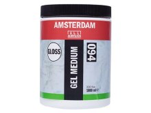 Amsterdam Gel Medium 1000ml - GLOSS
