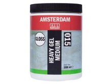 Amsterdam Heavy Gel Medium 1000ml - GLOSS