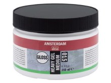 Amsterdam Heavy Gel Medium 250ml - GLOSS