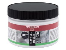 Amsterdam Heavy Gel Medium 250ml - MATT