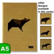 Animalia A5 Kraft Sketchbook
