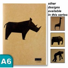 Animalia A6 Kraft Sketchbook