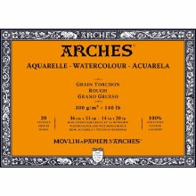 "Arches Block 140lb 14x20"" Roug"