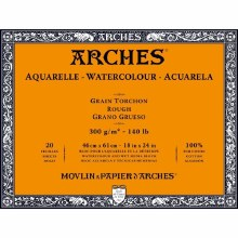 "Arches Block 140lb 18x24"" Roug"